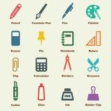 Stationery elements Stock Image