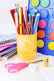Stationery facilities Stock Images