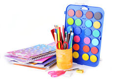 Stationery facilities Royalty Free Stock Photography