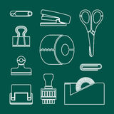 Stationery icon great for any use. Vector EPS10. Stock Images