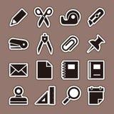 Stationery icon Stock Photos