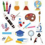 Stationery icon Royalty Free Stock Photos