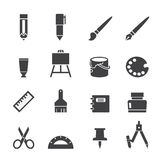 Stationery Icon Stock Photography