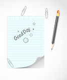 Stationery items Royalty Free Stock Image