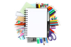 Stationery items Stock Image