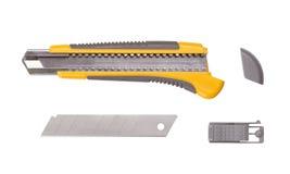 Stationery knife Stock Photo