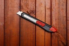 Stationery knife Royalty Free Stock Image