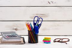 Stationery for manager. Creative agency. Stock Photos