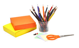 Stationery materials Royalty Free Stock Photography