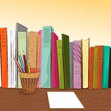 Stationery objects vector Stock Images