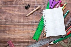 Stationery objects Royalty Free Stock Photos