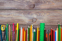 Stationery objects Royalty Free Stock Images