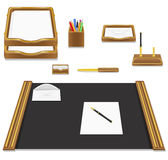 Stationery office vector illustration Royalty Free Stock Photo