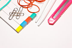 The stationery Royalty Free Stock Images