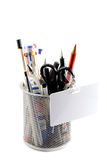 Stationery pencil case Stock Photography