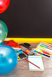 Stationery for school Stock Photo