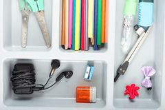 Stationery for school  set Stock Photography
