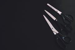 Stationery scissors Royalty Free Stock Photos