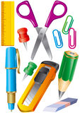 Stationery set Stock Photo