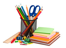 Free Stationery Set. Royalty Free Stock Photos - 22104838