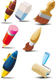 Stationery set Stock Photography