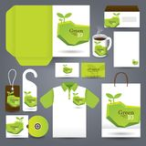 Stationery set design / Gift set template. Royalty Free Stock Images