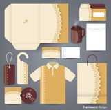 Stationery set design / Stationery set template. Stock Photo