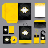 Stationery set design / Stationery set template. Stock Photography