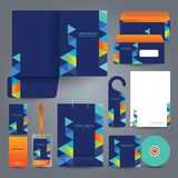 Stationery set design / Stationery template. Royalty Free Stock Photography
