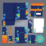 Stationery set design / Stationery template. Royalty Free Stock Photography