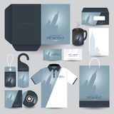 Stationery set design / Stationery template. Stock Images
