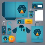 Stationery set design / Stationery template. Stock Photography