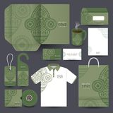 Stationery set design / Stationery template. Stock Image