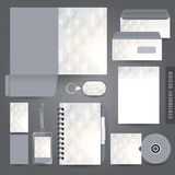 Stationery set design / Stationery template. Royalty Free Stock Image