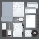 Stationery set design / Stationery template. Stock Photo