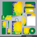 Stationery set design / Stationery template. Royalty Free Stock Photo