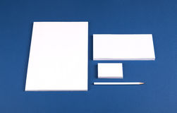 Stationery set Stock Images