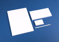 Stationery set Royalty Free Stock Images