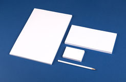 Stationery set Stock Image