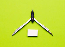 Stationery set. The stationery set is very colorful Royalty Free Stock Photos