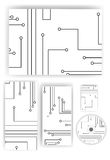 Stationery set for your design Stock Photo