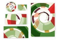 Stationery set for your design. Colorful digital Illustration stock illustration