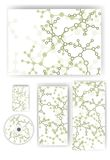 Stationery set for your design Royalty Free Stock Photography