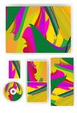 Stationery set for your design. Stock Photo