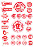 Stationery Stamp or Chop Stock Photography