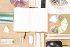 Stationery supplies Royalty Free Stock Photos