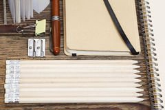 Stationery supplies Stock Photography