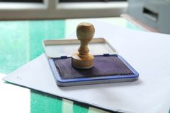 Stationery on the table version 22 Stock Image