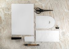 Stationery template Royalty Free Stock Image