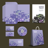 Stationery Template, Corporate Image Design Stock Images